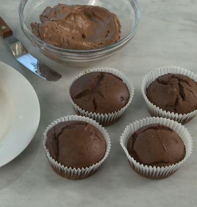 Ricetta Muffins Halloween Ricetta Muffins al cioccolato - Ricetta Muffins al cioccolato