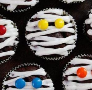 Ricetta Muffins cioccolato Halloween
