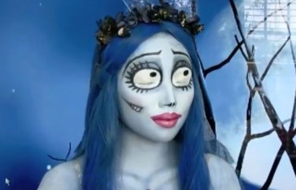 La sposa cadavere Trucco