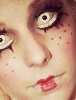 Trucco Halloween da Bambola Assassina Trucco Halloween da Bambola Assassina - Trucco e Vestito Halloween da Bambola Assassina
