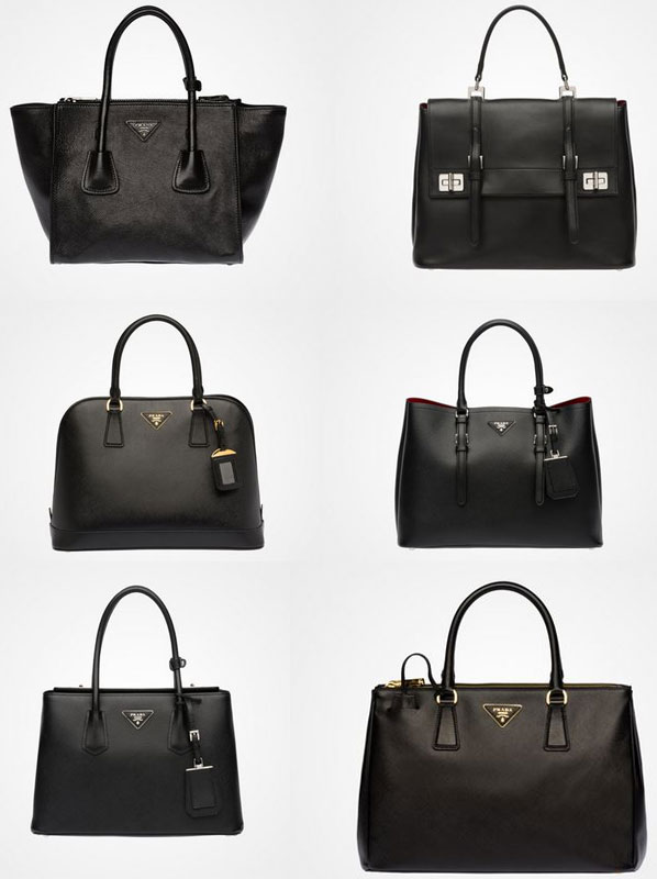 buy a prada bag - prada borsa nera in pelle