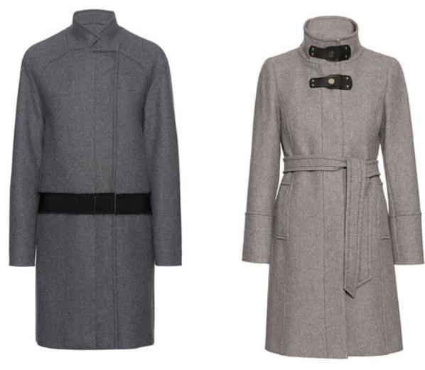 Cappotti grigi Pennyblack inverno 2014 2015