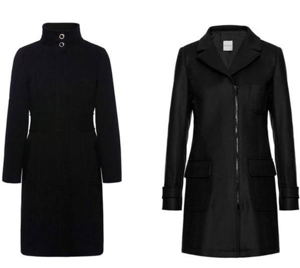 Cappotti neri Pennyblack collezione inverno 2014 2015