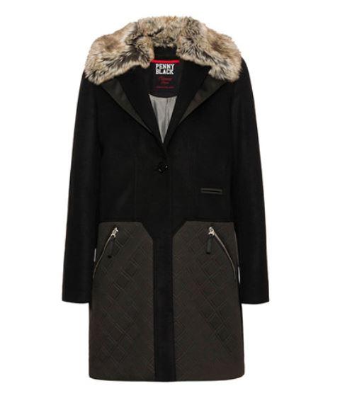 Cappotto Pennyblack mod Annarita collezione inverno 2015 prezzo 299 euro