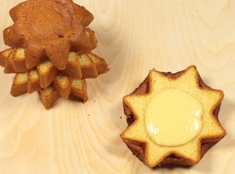 Farcire pandoro con creme mascarpone cioccolato e arancia