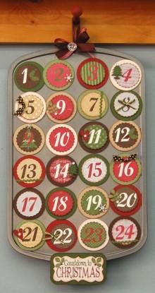 Idea Calendario Avvento Fai da te con teglia mini muffin Idea Calendario Avvento Fai da te con teglia mini muffin 220x415 - Calendario Avvento Fai da te per bambini e adulti