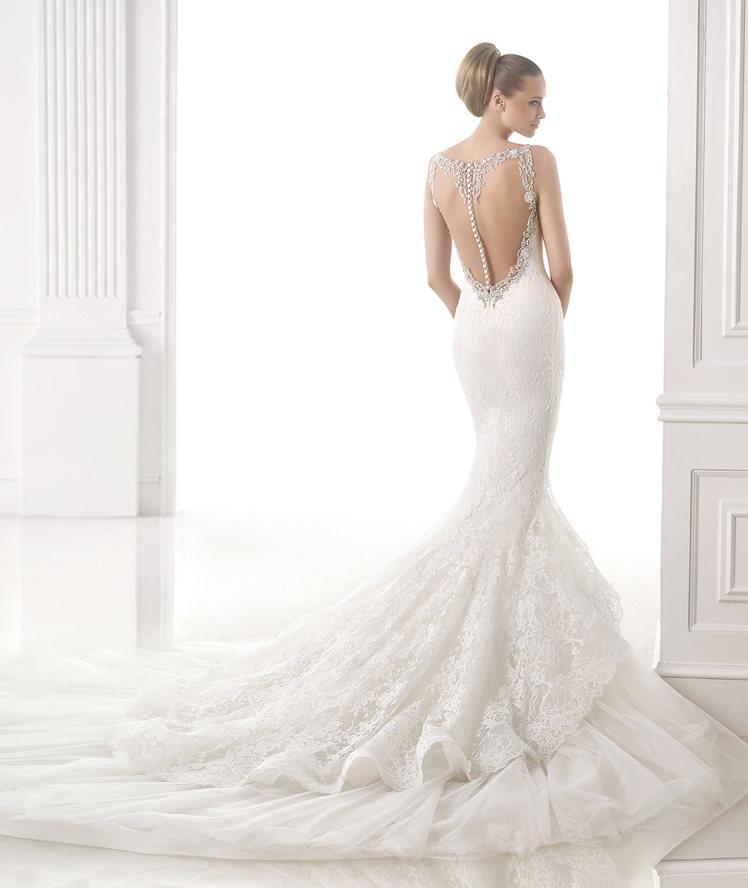 Famoso Abito da sposa con scollatura schiena – Abiti alla moda della  EV97