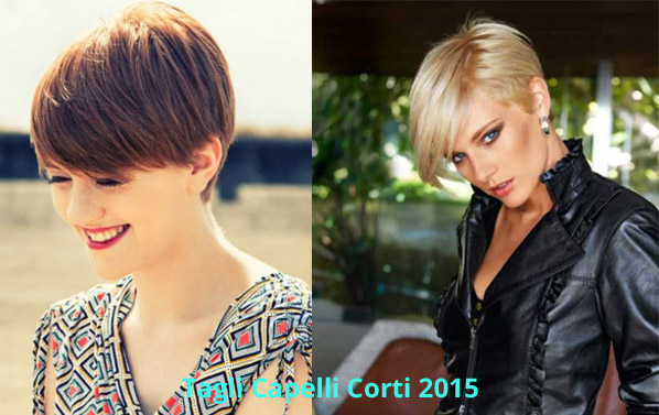 Tagli di capelli corti e asimmetrici