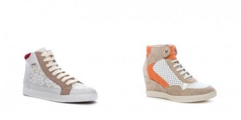 Sneakers Geox collezione primavera estate 2015