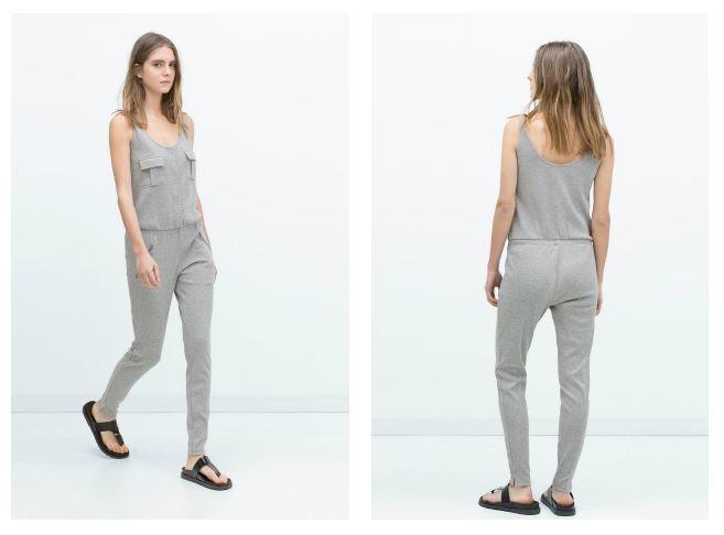 half off 8f14a 2cd57 Tute intere Zara primavera estate 2015: Jumpsuit corte e ...