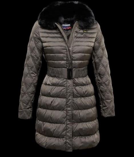 Piumino lungo con cintura Blauer inverno 2016 prezzo 748 euro Piumino lungo con cintura Blauer inverno 2016 prezzo 748 euro 470x548 - Piumini Blauer donna collezione inverno 2016: Foto e Prezzi