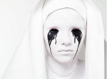 Tutorial Trucco Halloween da sposa che piange American Horror Story