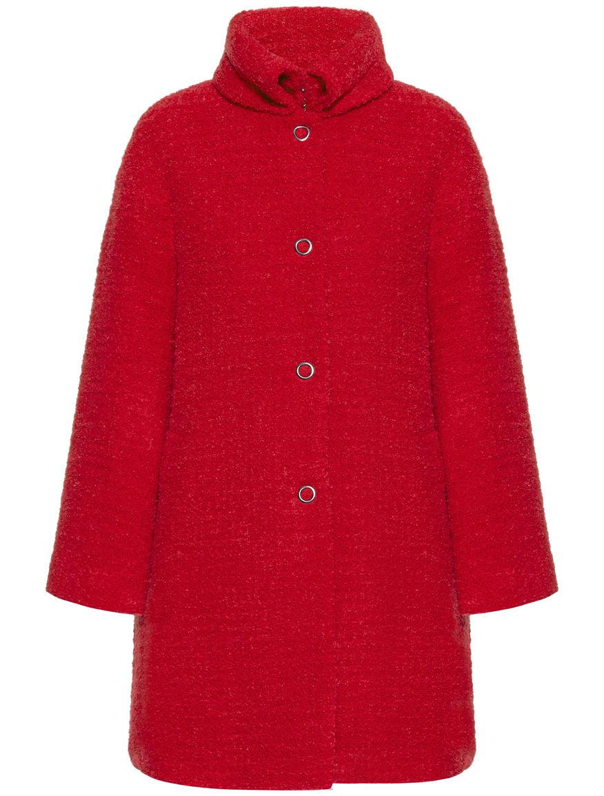 Cappotto in boucle Pennyblack inverno 2015 2016 prezzo 265 euro