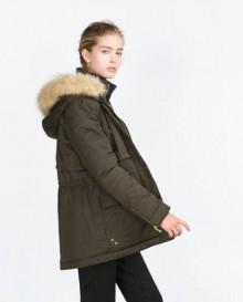 Catalogo Parka Zara inverno 2015 2016 Catalogo Parka Zara inverno 2015 2016 220x273 - Parka Zara inverno 2015 2016: Catalogo prezzi