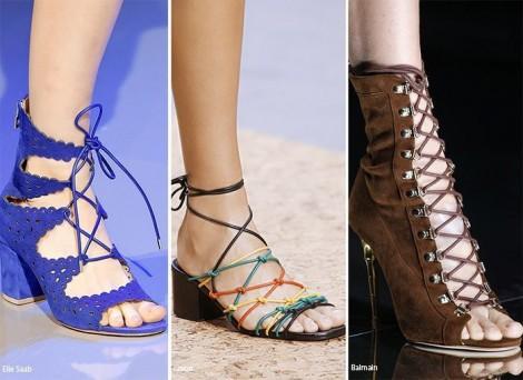 Sandali stringati Moda scarpe estate 2016 Sandali stringati Moda scarpe estate 2016 470x342 - Moda Scarpe e Sandali Estate 2016