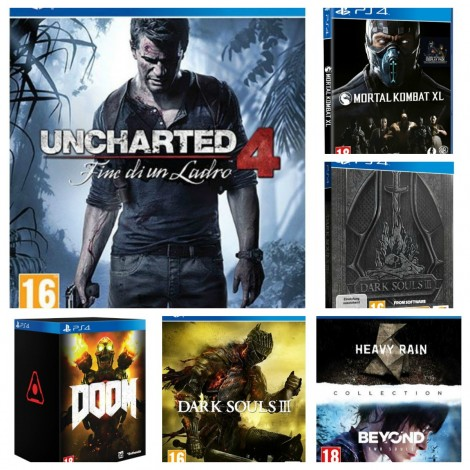 Giochi PS4 in uscita 2016