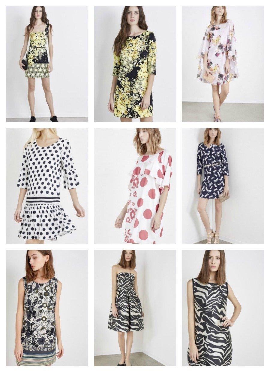 new product 2925b e974f Liu Jo Abiti collezione primavera estate 2016: Catalogo ...