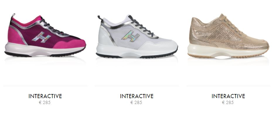 Nuove Sneakers Hogan Interactive estive