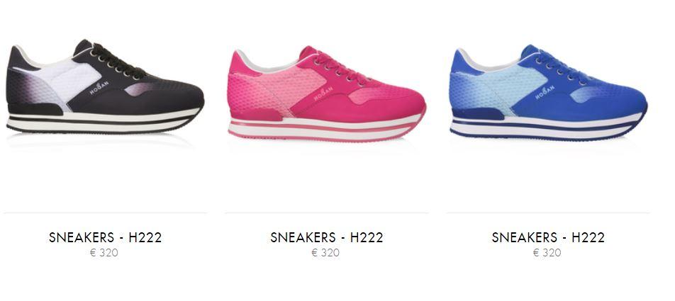 Nuove sneakers estive H222 primavera estate 2016