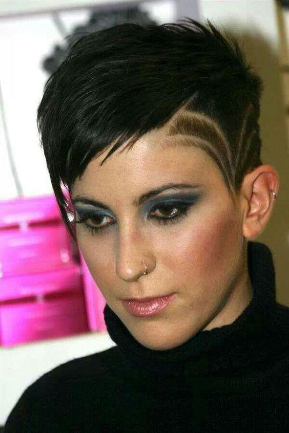 Ben noto Taglio capelli corti rasati ai lati con disegni - The house of blog UG22