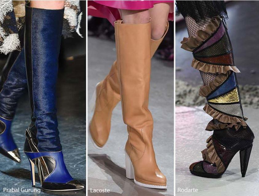 15 Tendenze Moda Scarpe e Stivali Inverno 2016 2017