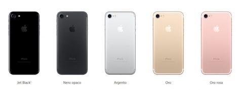 Colori iPhone 7 Colori iPhone 7 470x178 - Tariffe Vodafone iPhone 7 e 7 Plus