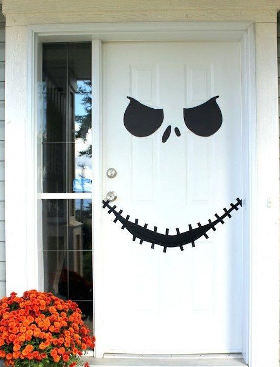 Come decorare la porta di casa Halloween