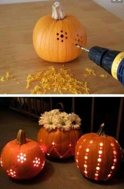 Come decorare le zucche per Halloween