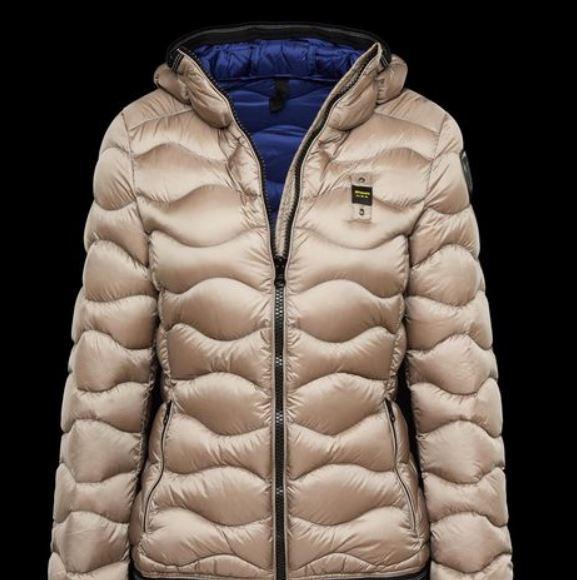 Caldo piumino Blauer donna prezzo 238 euro mod Sport glossy