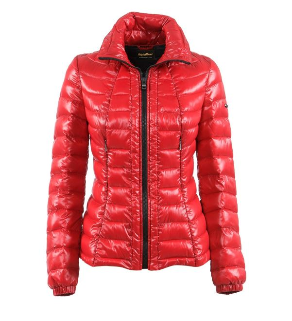 Piumino Refrigiwear donna inverno 2017 lucido mod Vanity prezzo 309 euro