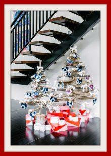 Alberi di Natale ecologici fai da te con il riciclo creativo