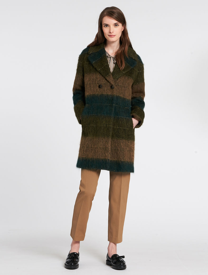 Cappotto alpaca e mohair Pennyblack inverno 2017 prezzo 359 euro