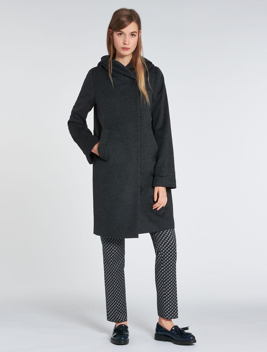 Cappotto con cappuccio Pennyblack inverno 2017 prezzo 299 euro