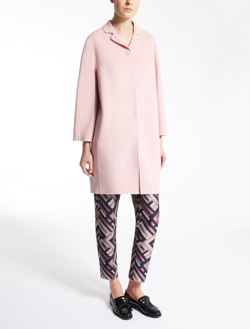 b08e9f62a65c1 Cappotto in lana Max Mara collezione inverno 2016 2017 prezzo 535 euro  Cappotto in lana Max
