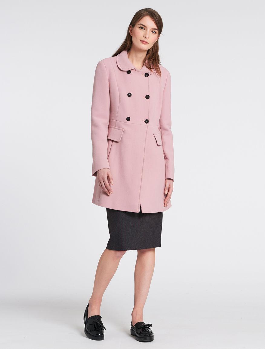 Cappotto rosa bon ton Pennyblack inverno 2016 2017 prezzo 289 euro