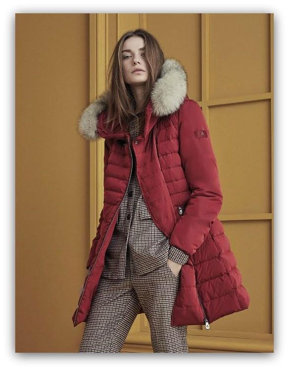 sports shoes 28c9e fe6cd Peuterey Piumini e Giubbotti collezione donna inverno 2017 ...