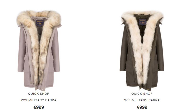 Blog Euro Prezzo Woolrich Parka 999 Military The Inverno House Of 2017 qUaapw