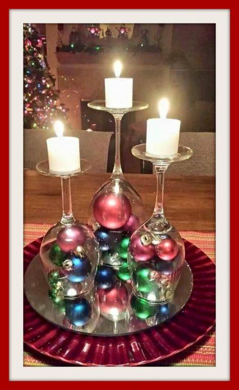 10 idee centrotavola natalizio fai da te the house of blog - Centro tavola natalizio fai da te ...