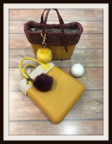Nuovi accessori Borse O Bag inverno 2016 2017 I Pom Pom