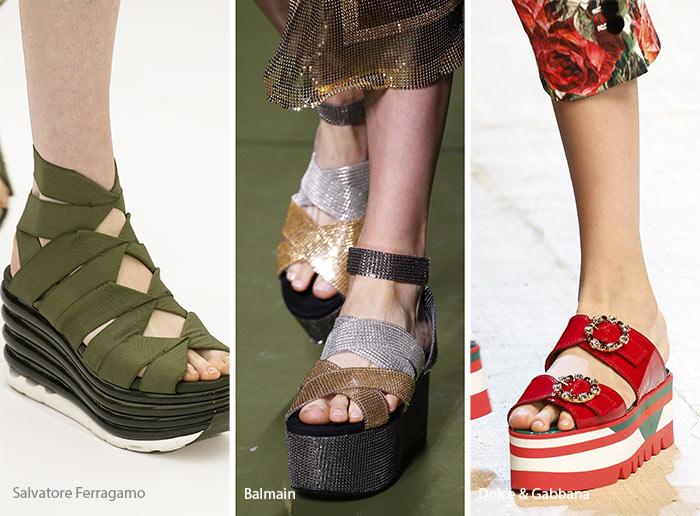 10 Tendenze Moda Scarpe e Sandali primavera estate 2017