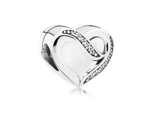 bracciale pandora cuore san valentino