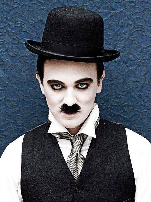 Costume e trucco Carnevale uomo da Charlie Chaplin