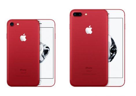 Nuovo iPhone 7 e 7 plus rosso opaco dal 24 marzo 2017