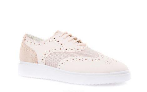 Sneakers Thymar modello francesina Geox collezione primavera estate 2017