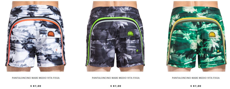 Costumi da bagno uomo boxer medi Sundek collezione estate 2017