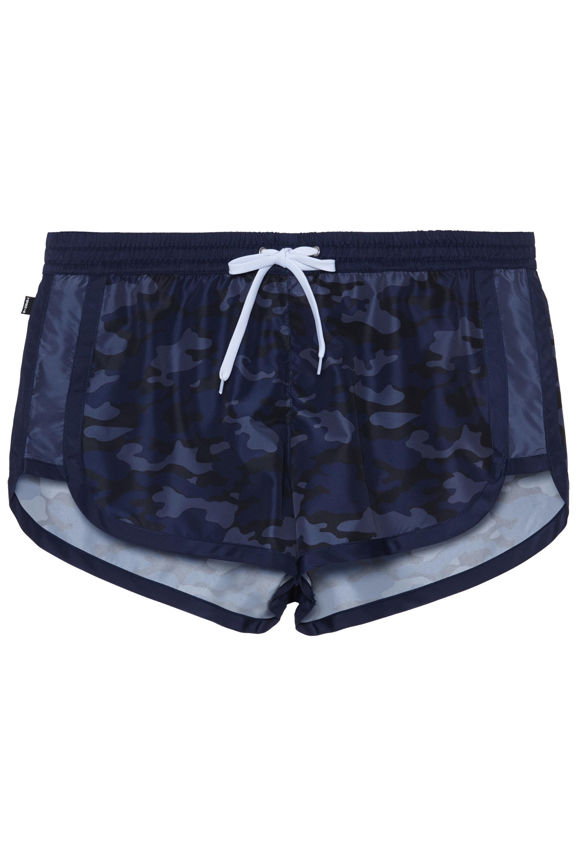 Boxer corto uomo stampa camouflage blu Tezenis