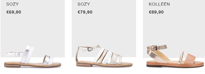 GEOX collezione sandali bassi estate 2017