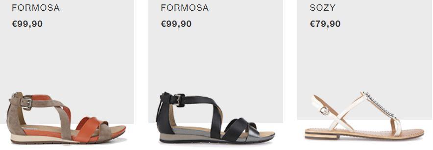 GEOX donna catalogo sandali 2017