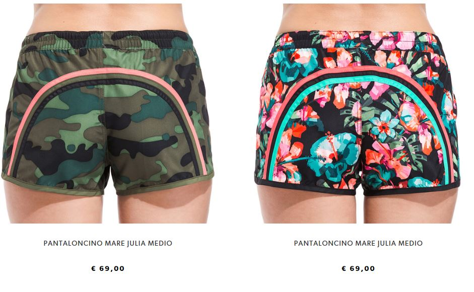Pantaloncini Sundek donna estate 2017
