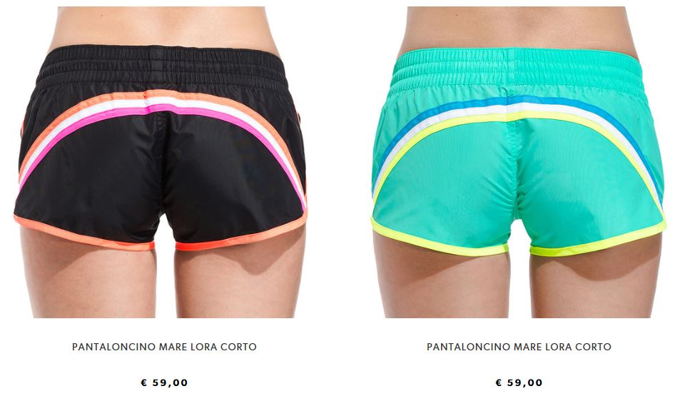 Pantaloncino mare corto Sundek donna etsate 2017